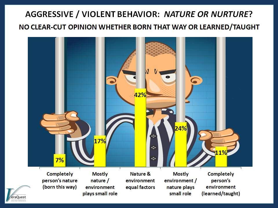 AGGRESSIVE / VIOLENT BEHAVIOR:  Nature or Nurture?